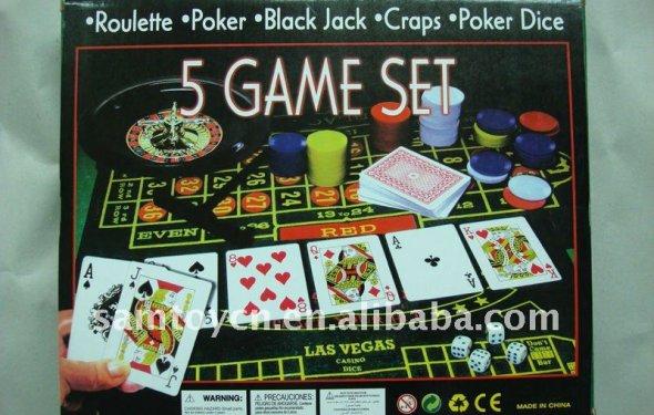 5 en un juego de conjunto