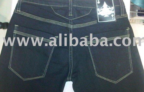 Black Jack Card Jeans