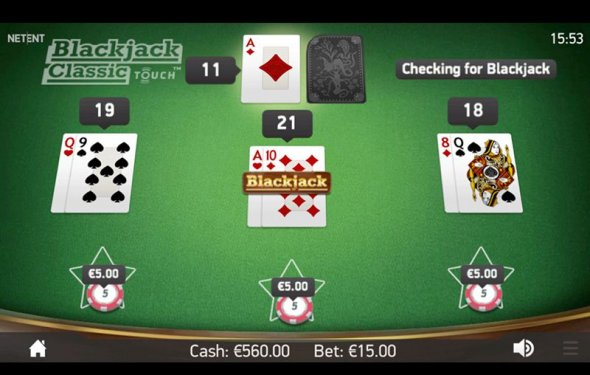 Blackjack com games - No
