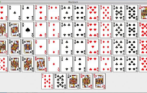 Java code blackjack game