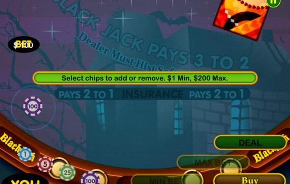 Ipad blackjack games for