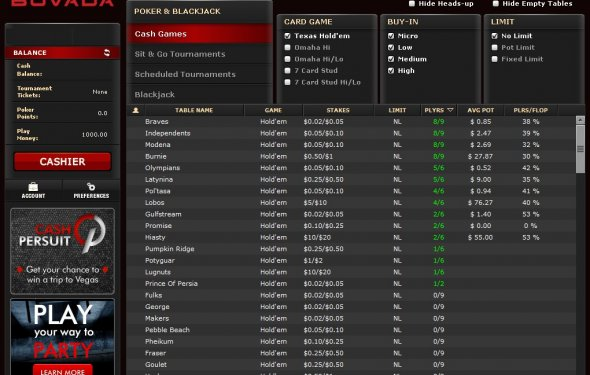 Blackjack online gambling