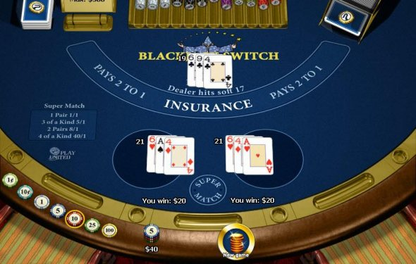 Click Here to play Blackjack