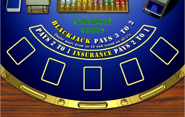 Blackjack Table by