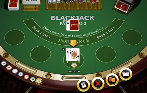 Play blackjack games you can