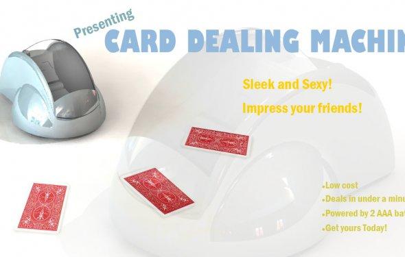 Poster - A card dealing