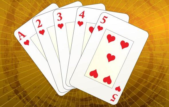 For card games gambling