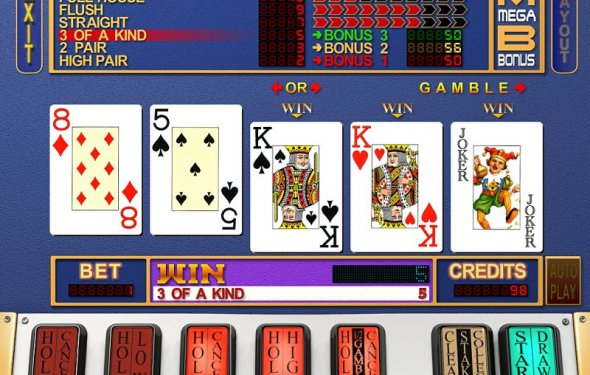 Card casino online poker slot