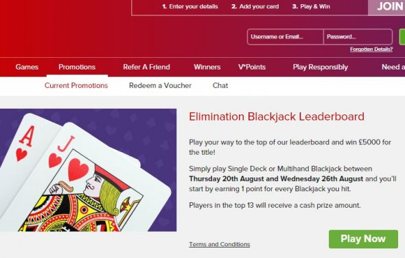 Elimination Blackjack