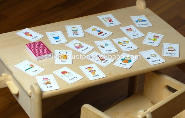 Games english for Kids , cards
