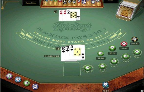 Blackjack gambling online