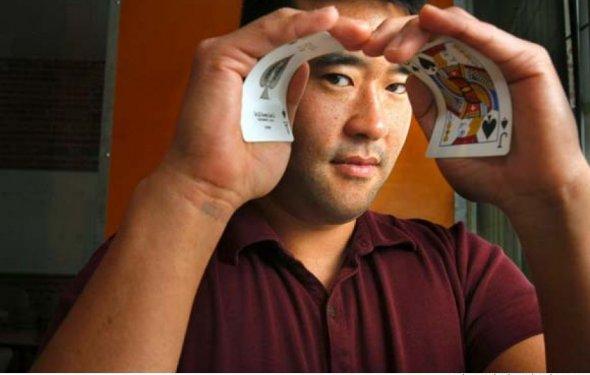 Jeff Ma, at his San Francisco