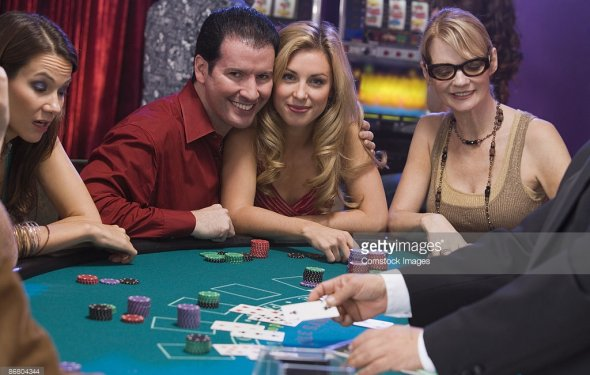Blackjack in casino