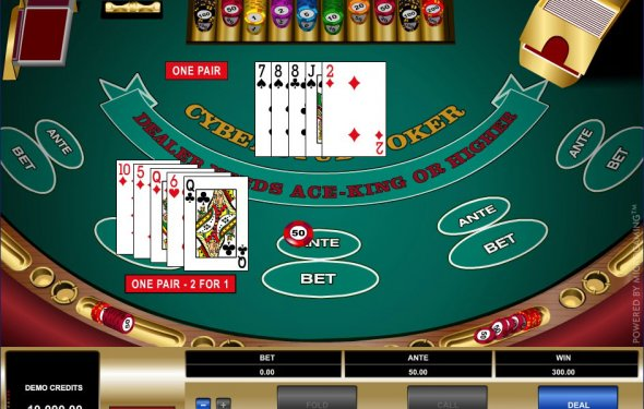 Casino, wild jack odds card