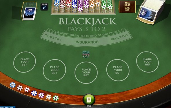 Playtech Blackjack Game