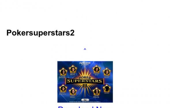 Pokersuperstars2 - Google Docs