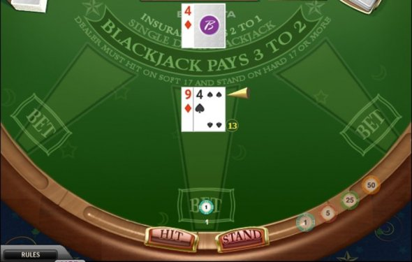 Borgata Single Deck Blackjack