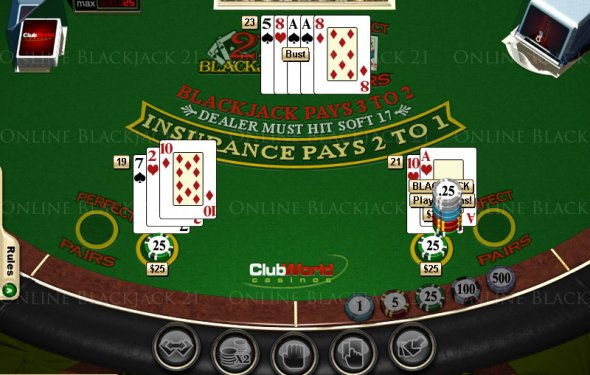 Blackjack Game Variations In
