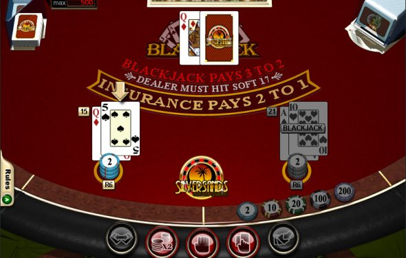 Sands Casino Blackjack