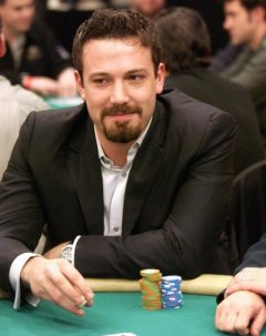 Ben Affleck during 2004 World Poker Celebrity Match at Commerce Casino in Commerce, Calif.