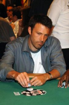 Ben Affleck, seen here at the World Series of Poker in 2007, has been banned from playing blackjack at Hard Rock Las Vegas after he was caught counting cards, a source told the Daily News.