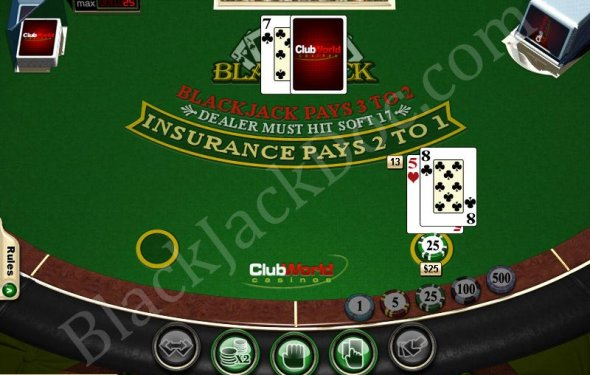 Six deck blackjack simulator