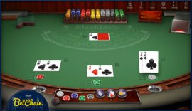 bitcoin casino blackjack