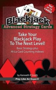 Blackjack Advanced Strategy Cards