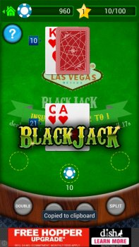 BlackJack – play solitaire casino style of 21!