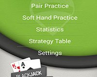 blackjack trainer lite application