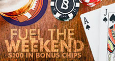 Bovada Blackjack Weekends Promo