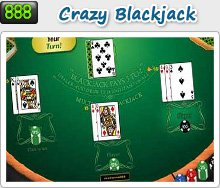 crazy blackjack online 888 casino