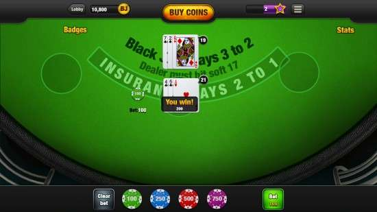 Online casino blackjack for fun