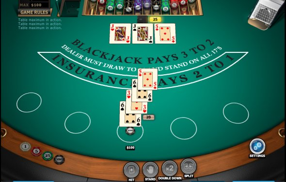 vegas strip blackjack rules  blackjack