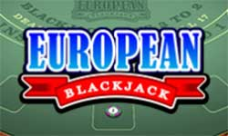 In European Blackjack there is no Surrender option and you can only double down on 9, 10 or 11.