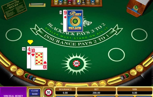 strip blackjack online flash