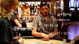 Math behind advantage play and blackjack