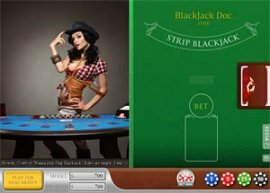 New Section! Three Blackjack Strip Games!