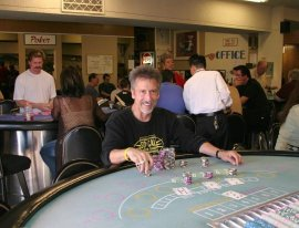 Nick Kallos at Casino Gaming School