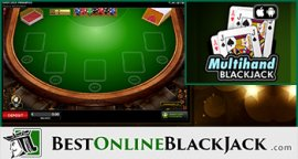 Rules of playing Multi Hand Blackjack