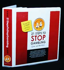STOP gambling now with this addiction recovery system.
