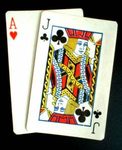 Super Fun Blackjack Includes this Hand