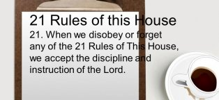 21 rules of this House
