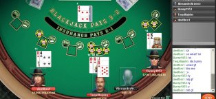 AOL games Blackjack