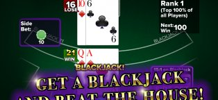 Blackjack app Android