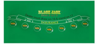 Blackjack table Top