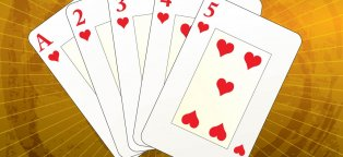 Card games for gambling