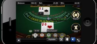 Online Mobile Blackjack