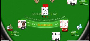 Online multiplayer Blackjack