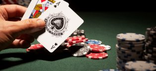 What is doubling down in Blackjack?